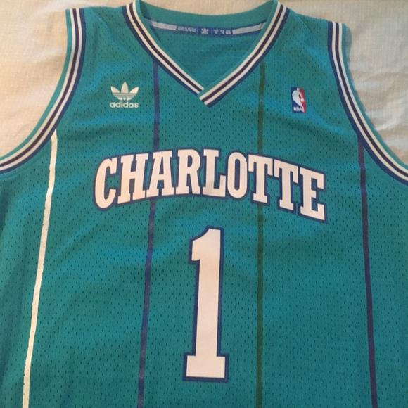 Muggsy Bogues Charlotte Hornets NBA Jersey
